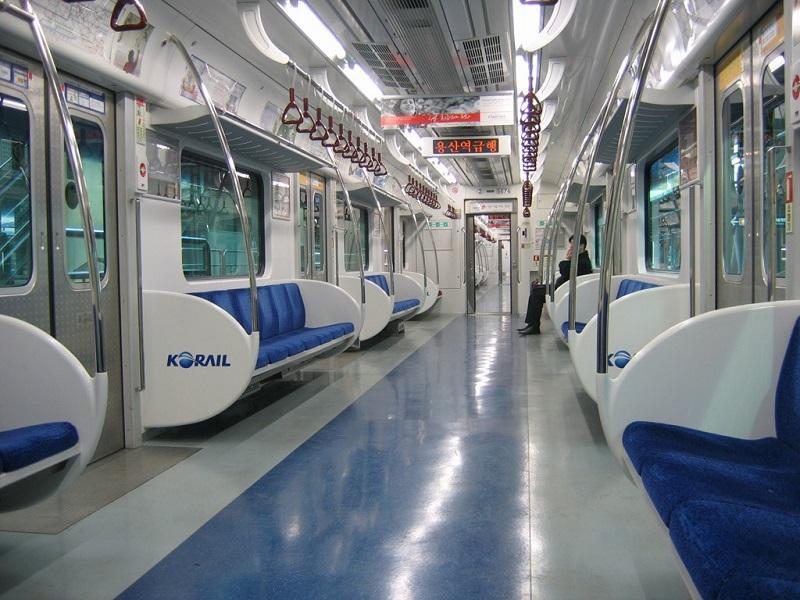 Kết quả hình ảnh cho tàu điện ngầm hàn quốc
