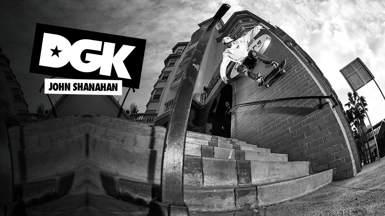 Jhon Shanahan Wall ride DGK Skateboards.