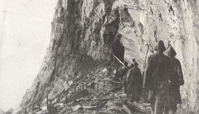 early_photo_of_Journey_Behind_the_Falls