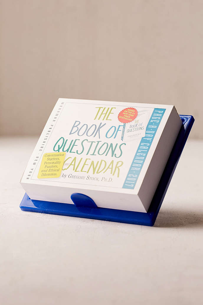 The Book Of Questions Calendar