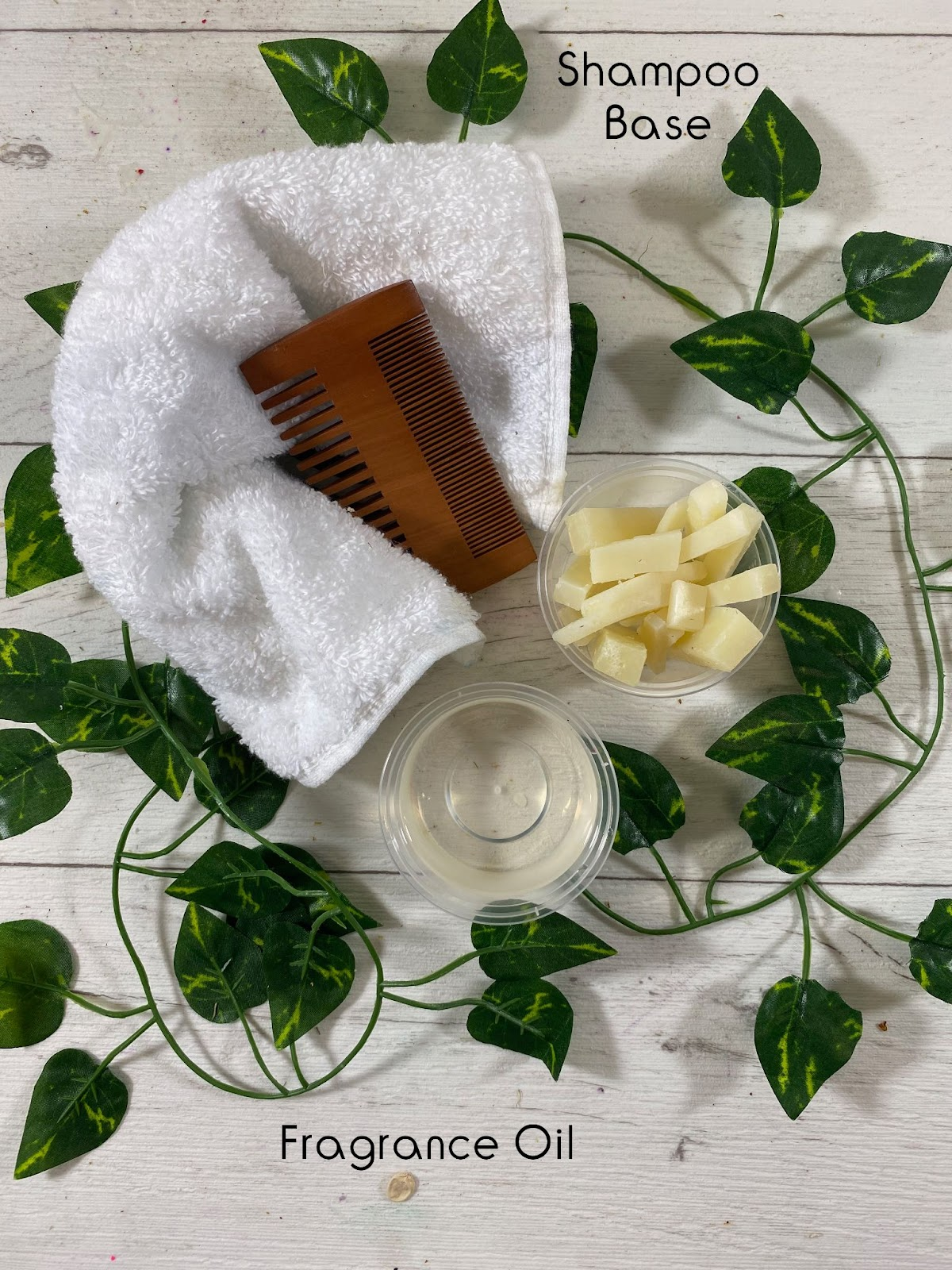 Ingredients for shampoo bars