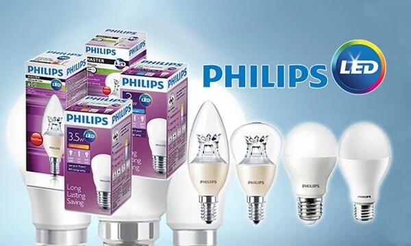 Một số đèn Led bulb Philips điều có thông số kỹ thuật rõ ràng