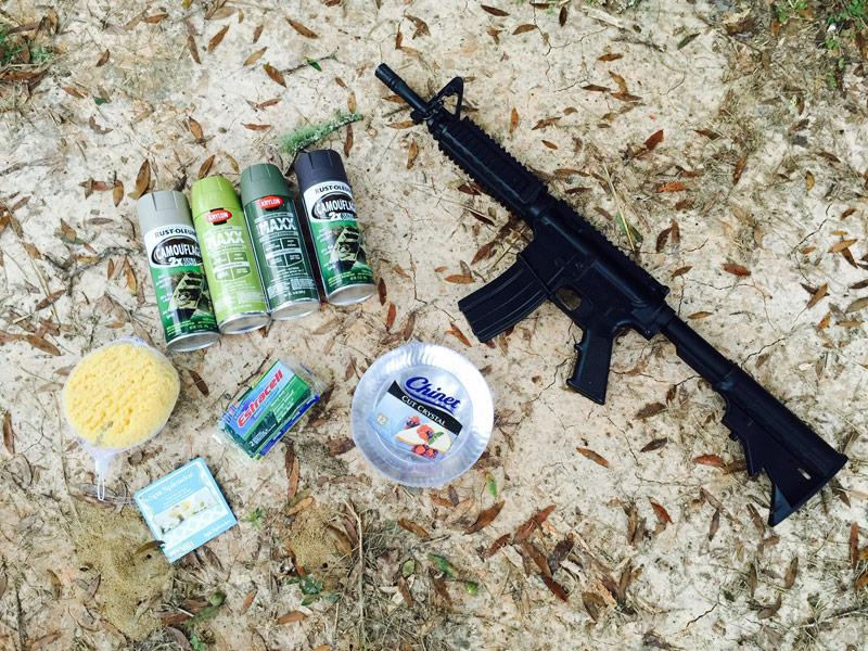Paint Guns like a Pro , how to paint a gun