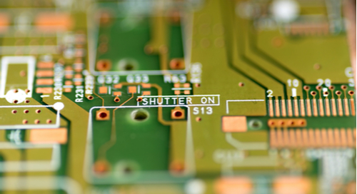 Picture of a PCB