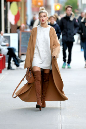 hailey bieber winter outfit 3