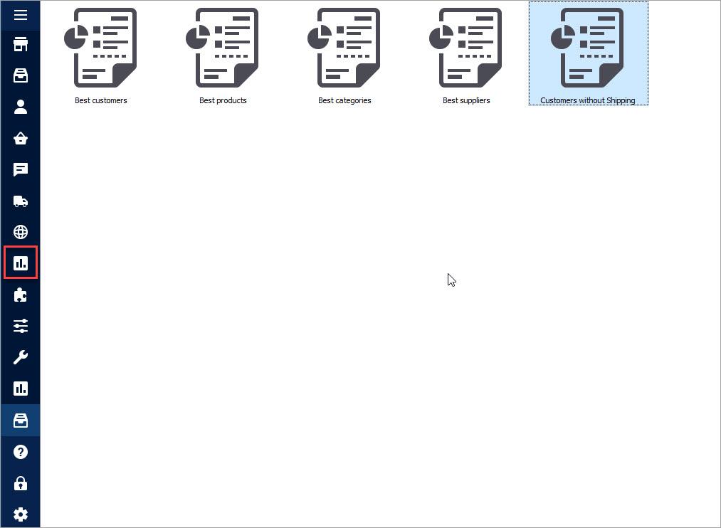PrestaShop Sample Reports