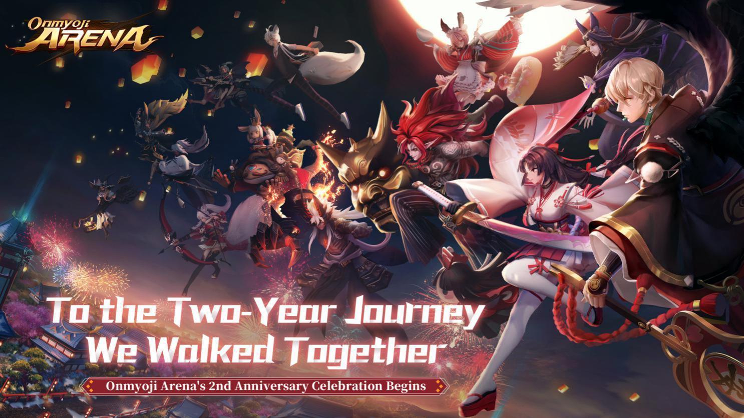Onmyoji Arena, NetEase Games' Japanese-style MOBA Game Set to Celebrate its 2nd Year Heian Festival