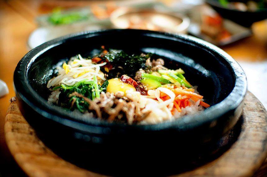 Bibimbap (Mixed rice)