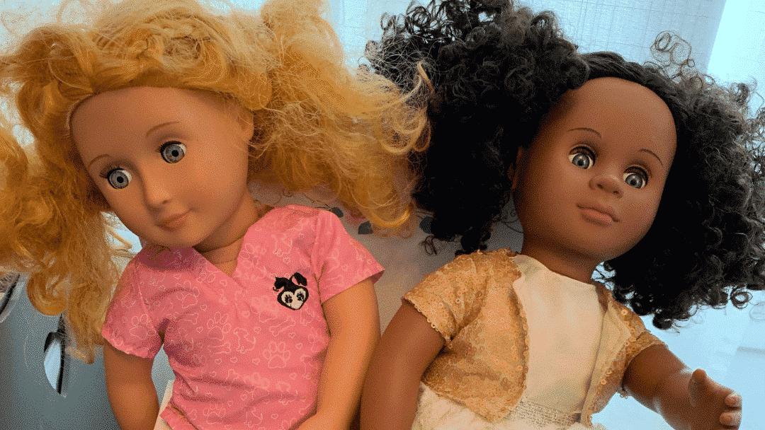 Our Generation Dolls from Target for kindergartener Christmas
