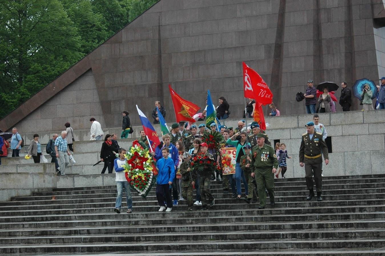 Колона ветеранов разведки и ВДВ (фото 2)