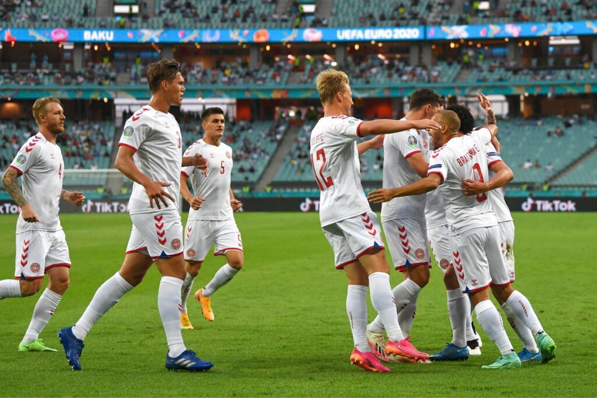 Đan Mạch đang là một đội bóng thi đấu rất bùng nổ