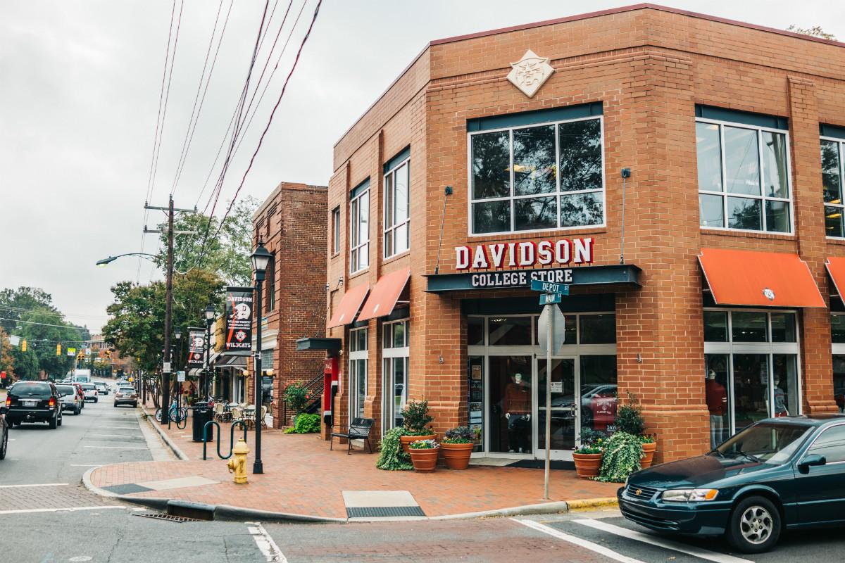 Davidson college store in Davidson, NC