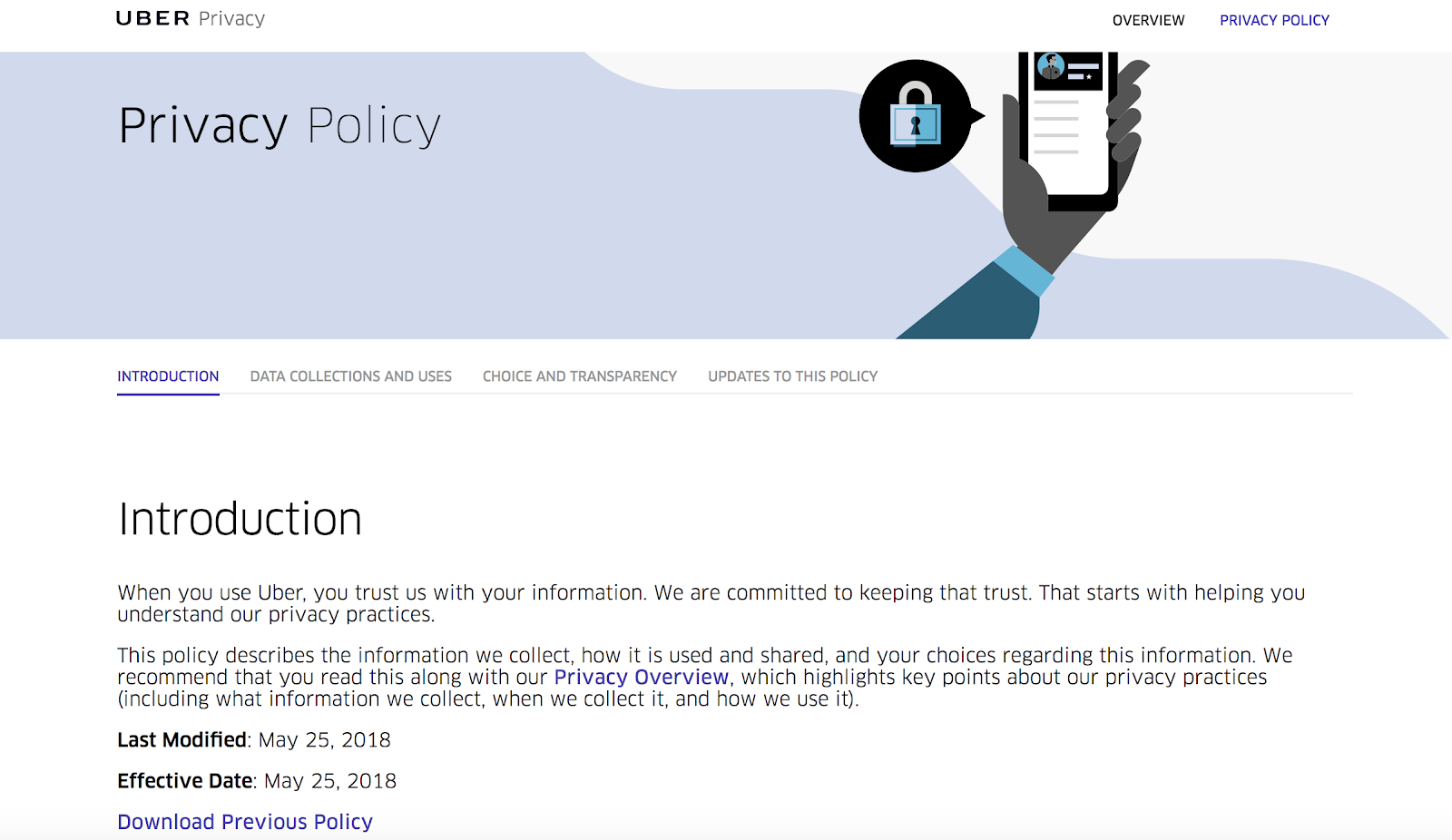 Privacy Policy >> Gdpr 5 Examples Of Well Presented Privacy Policies