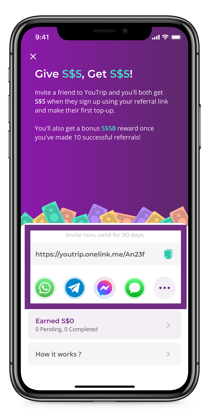 YouTrip Referral Programme: Get $5 Every Time You Refer A Friend!