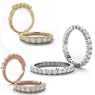Show Your Eternal Love with Full Eternity Rings