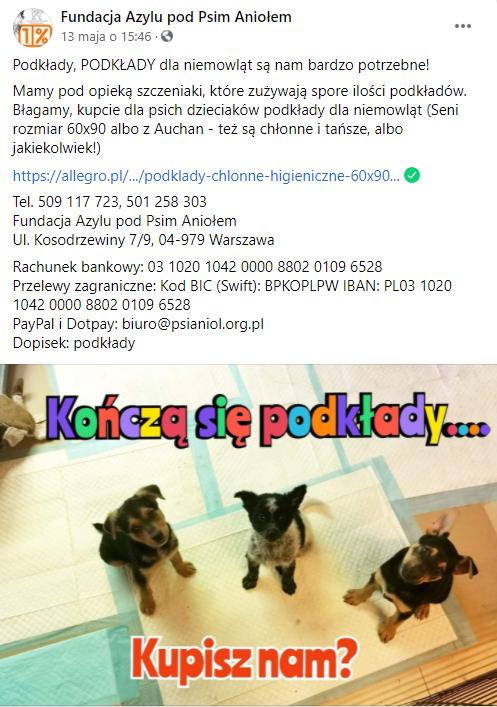 paczka dla psiaków