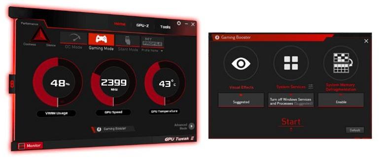 Card màn hình Asus Tuf Geforce RTX 3080 10GB GDDR6X (TUF-RTX3080-10G-GAMING)  Bứt phá hiệu năng