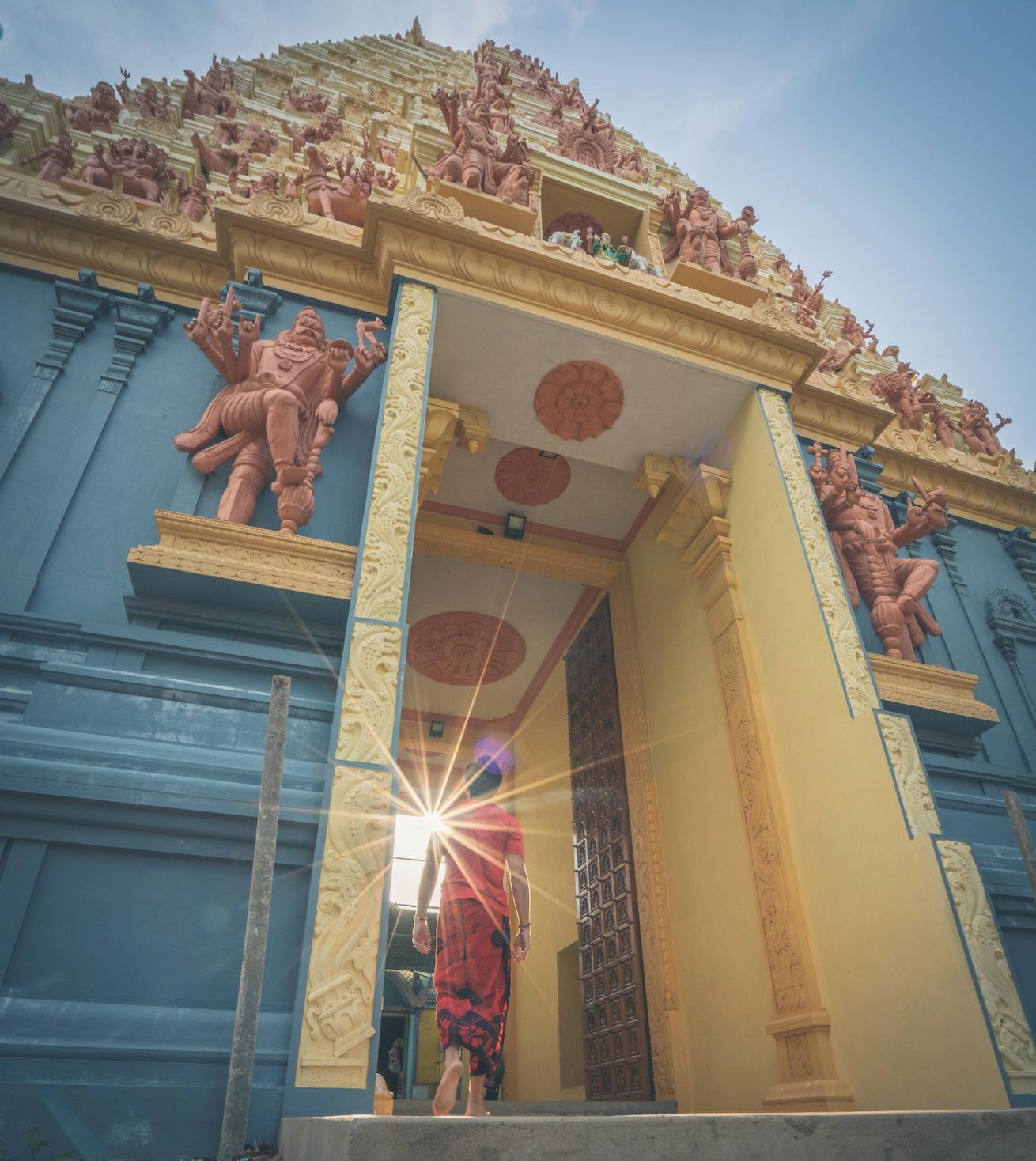 Naguleswaram Temple (Keerimalai Naguleswaram Kovil) in Kankesanturai, Sri Lanka