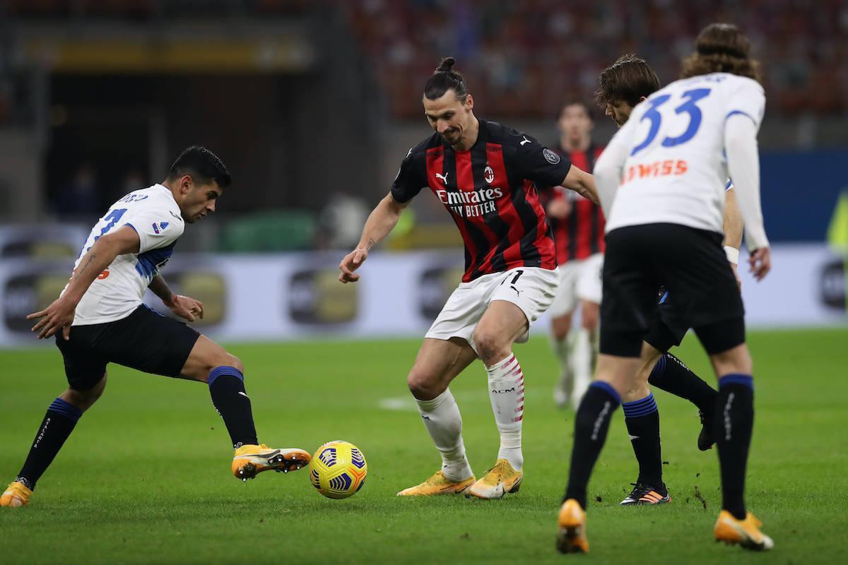 Atalanta đã đánh bại AC Milan 3-0 ở trận lượt đi trên sân San Siro