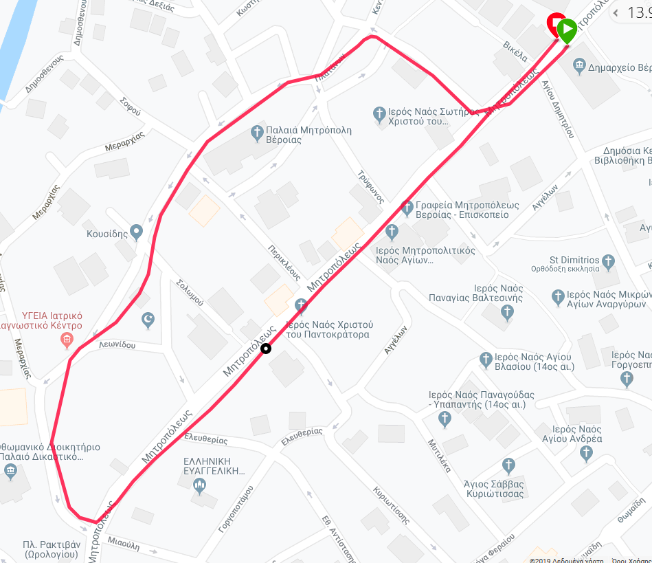 G:\8ος Φιλίππειος δρομος 2019\ΧΑΡΤΕΣ\1000m Δημοτικών Χάρτης.png