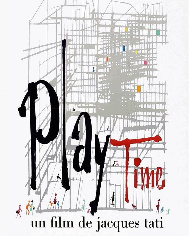 Playtime (1967, Jacques Tati)