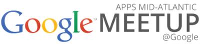 Google Apps Mid-Atlantic Meetup @ Google DC HQ