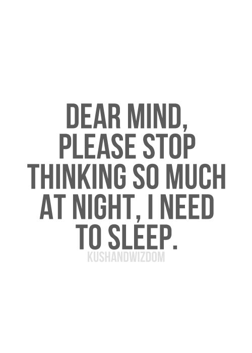 Insomnia quotes (A list)