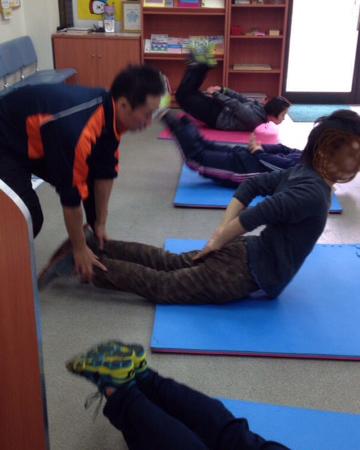 競艇試験の体力セミナー