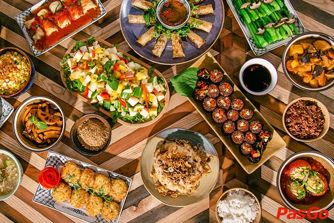 Image result for review Veggie Castle, buffet vegetarian