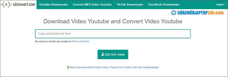Website X2convert.com