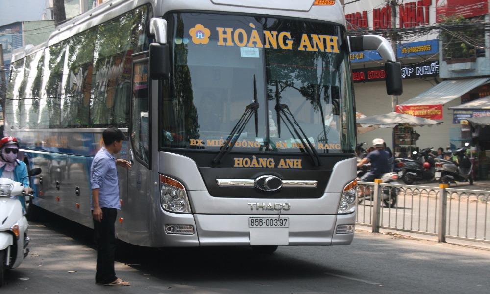 Xe Hoàng Anh từ Sài Gòn đi Phan Rang