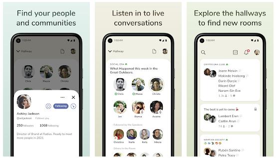 Clubhouse nowa aplikacja na systemy Android