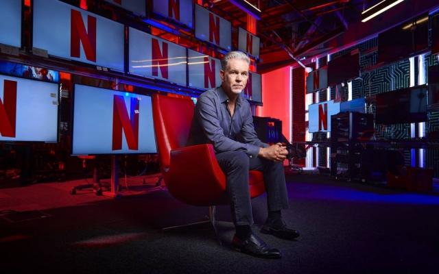 Reed Hastings, fundador e copresidente da Netflix