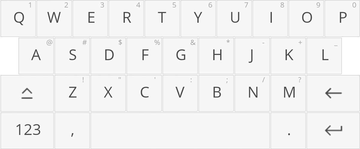 Using the Read&Write for Android keyboard
