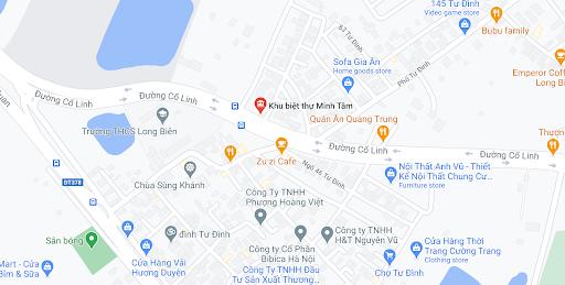 Địa chỉ Văn phòng nhà xe Trung Thành Limousine tại Hà Nội