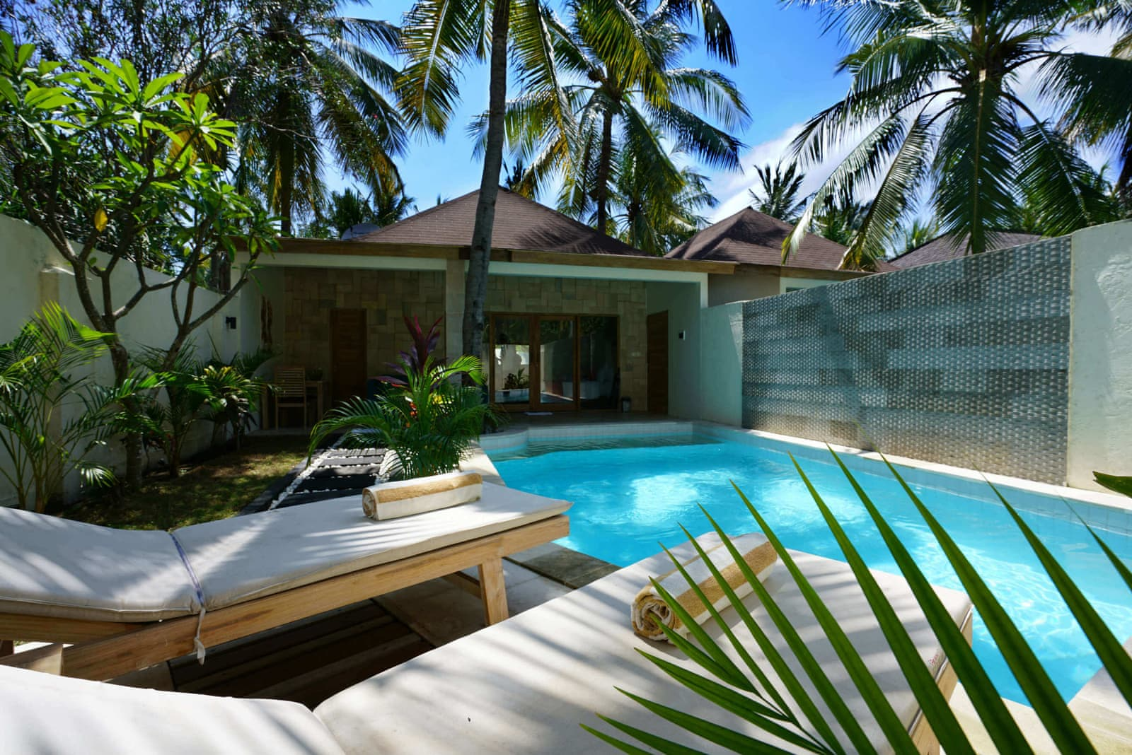 Senang Private Villa Lombok Endonezya