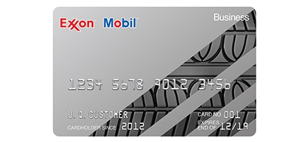 Exxon Mobil Business Gas Card