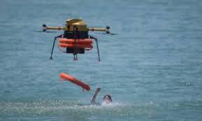 life-saving drones