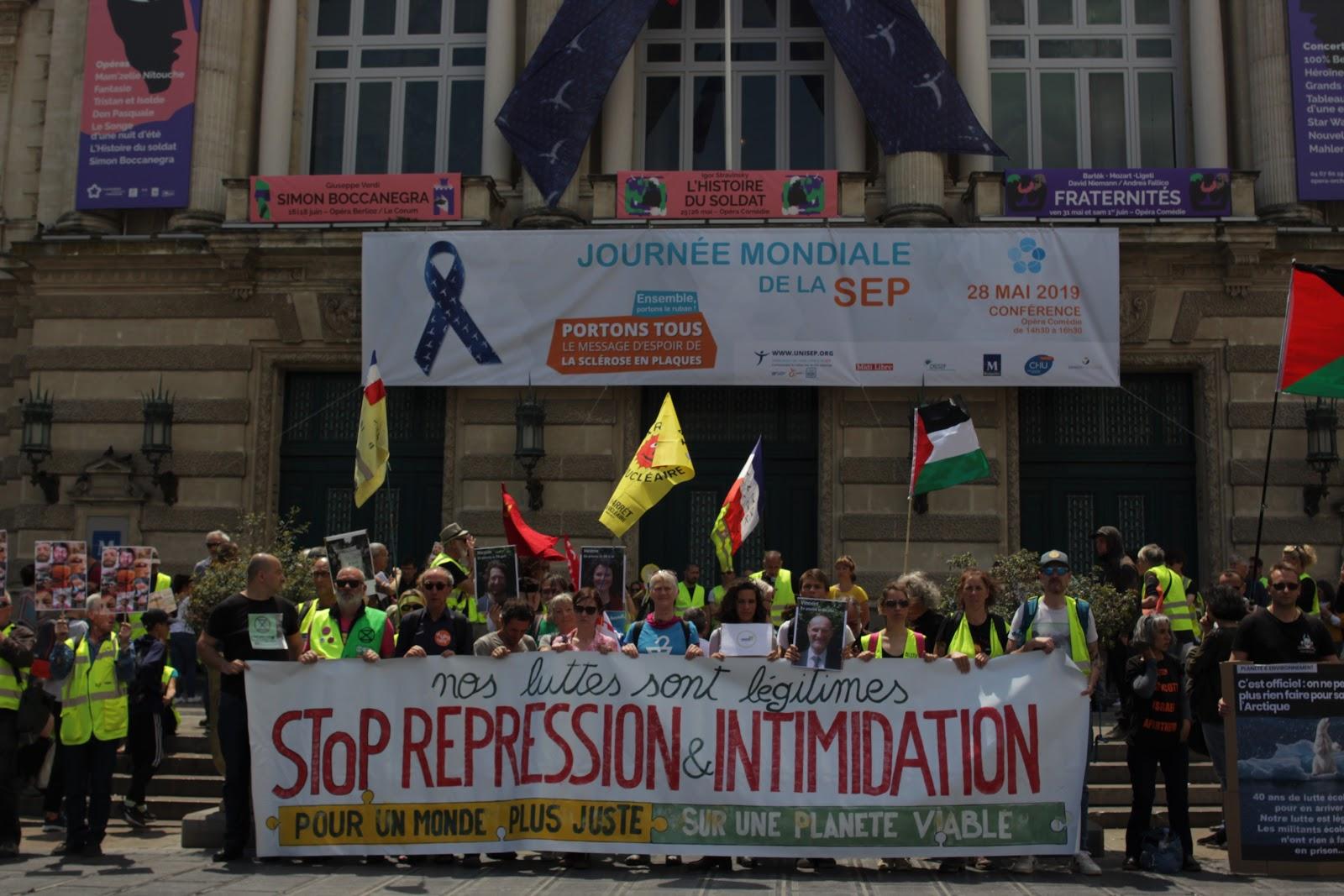 Marche pour le climat - Montpellier