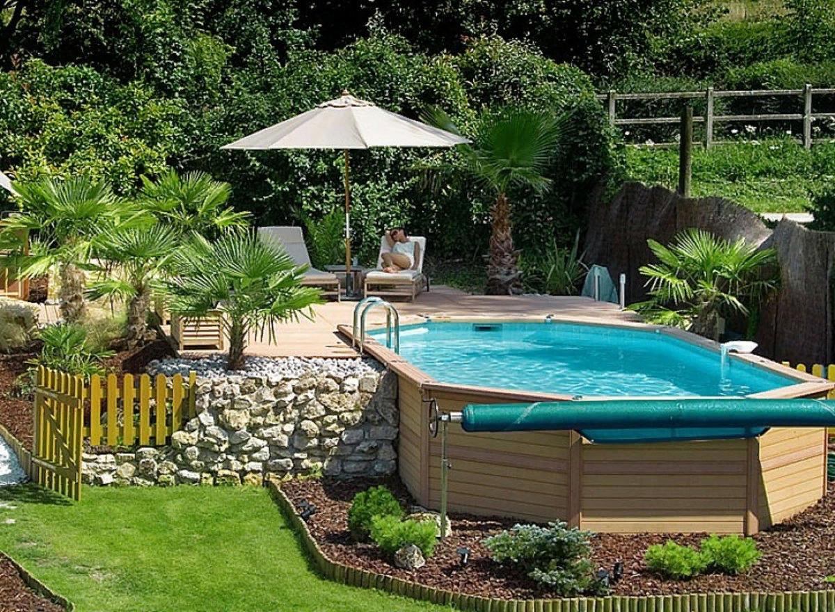 красивый бассейн на даче фото выбор лучшие