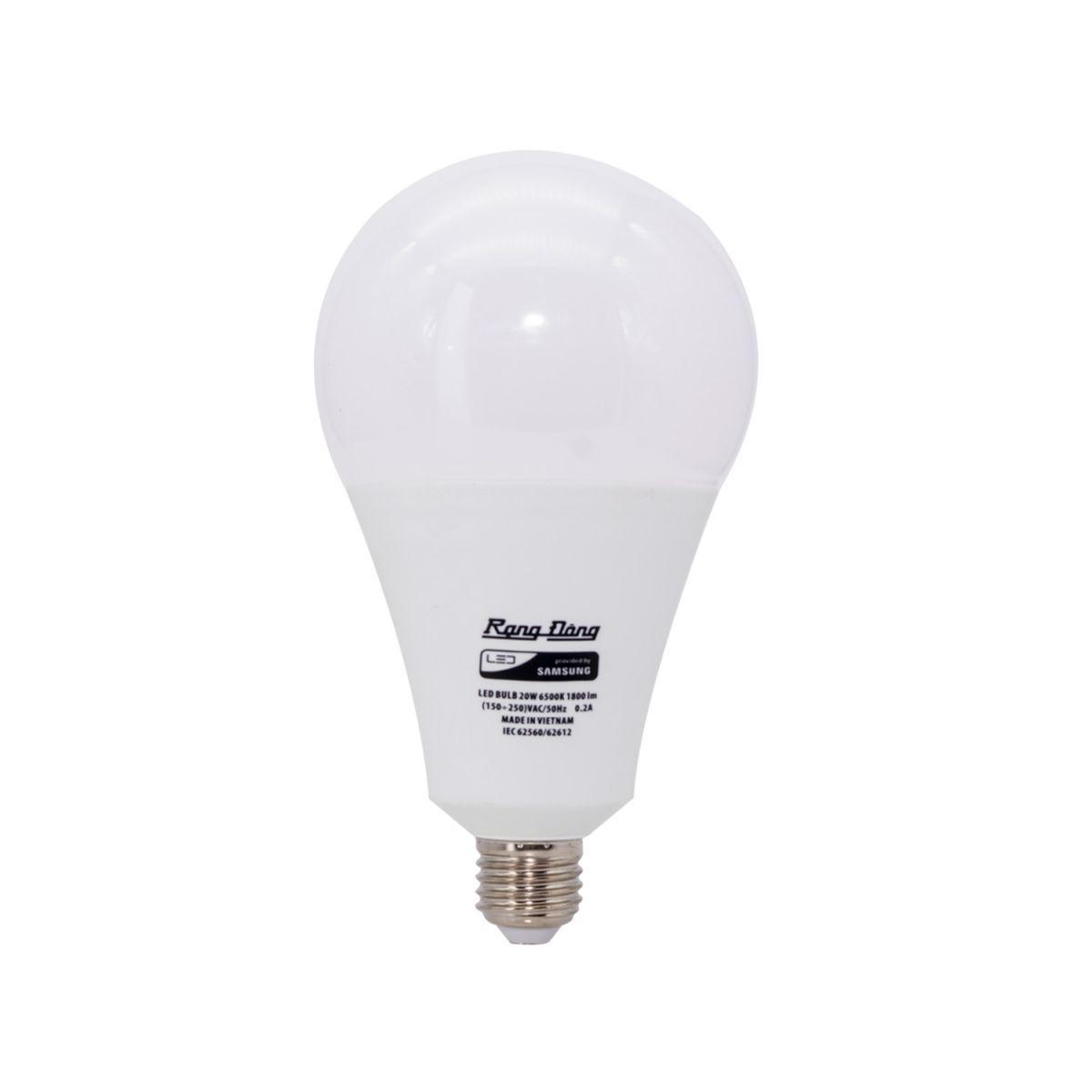 Ưu điểm của đèn Led bulb 20W Rạng Đông LED A95N1/20W