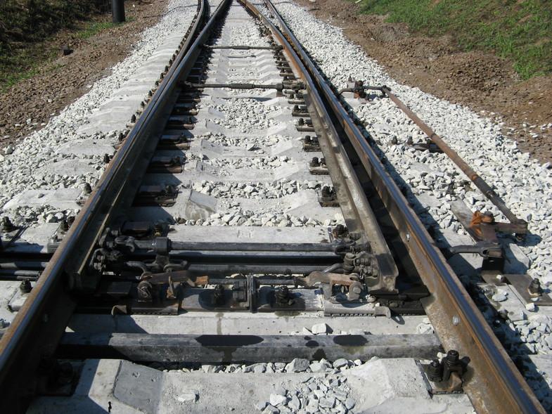 Рельсы железнодорожные типа р50