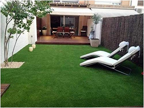 Yazlyn Collection 6.5 X 3 Feet High-Density Polyester Blend Artificial Grass