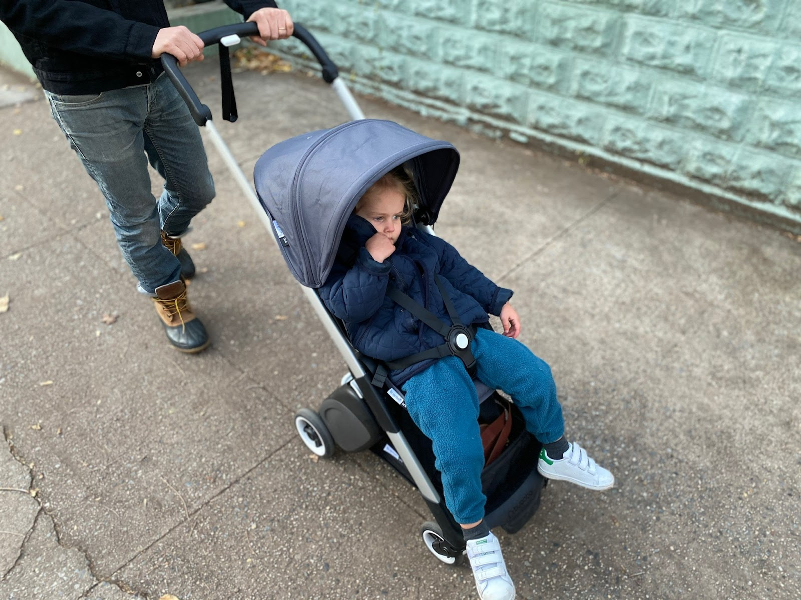 bugaboo ant stroller review: seat