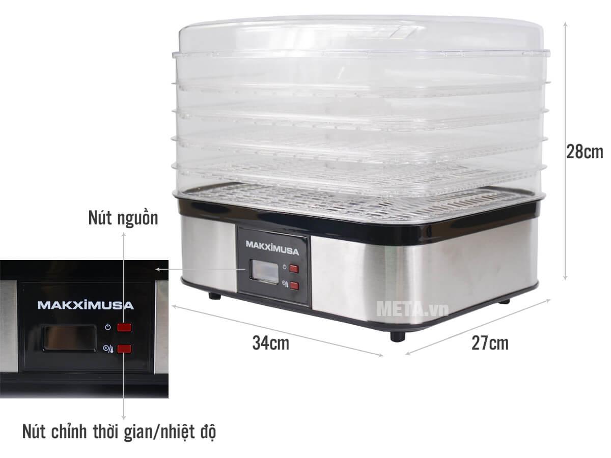 Máy sấy thực phẩm đáng sử dụng của thương hiệu Makxim