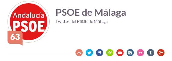 PSOE de Málaga   Klout.com.png