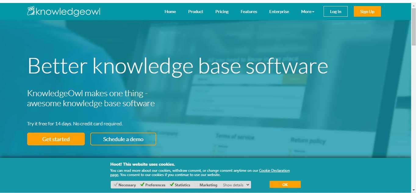 KnowledgeOwl Knowledge Management Software