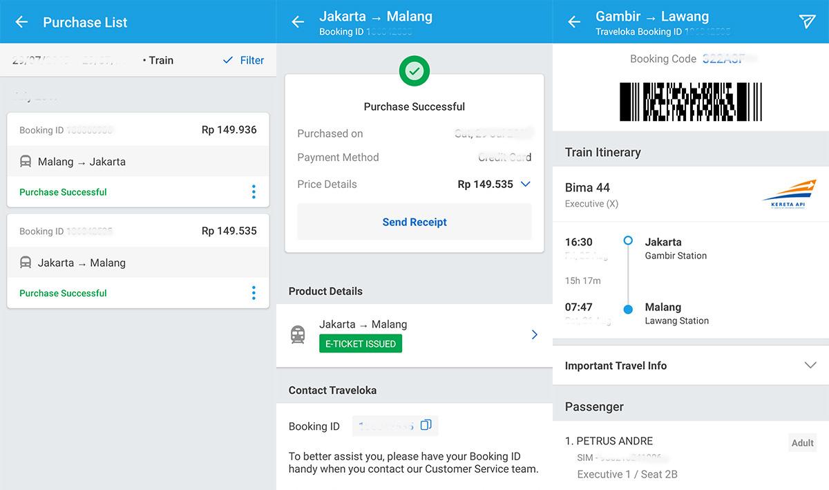Cara Pesan Tiket Kereta Online dengan Mudah di Traveloka