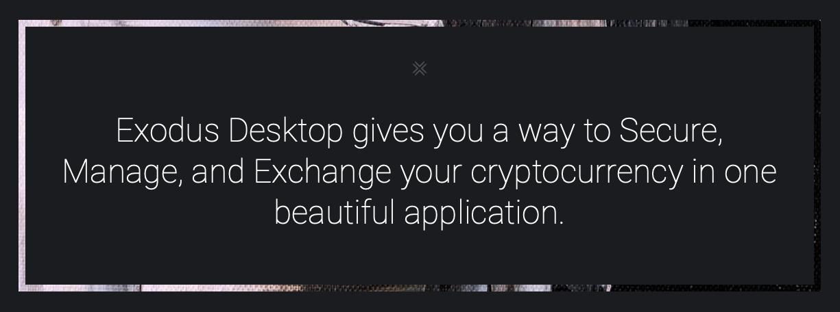 Exodus wallet Secure