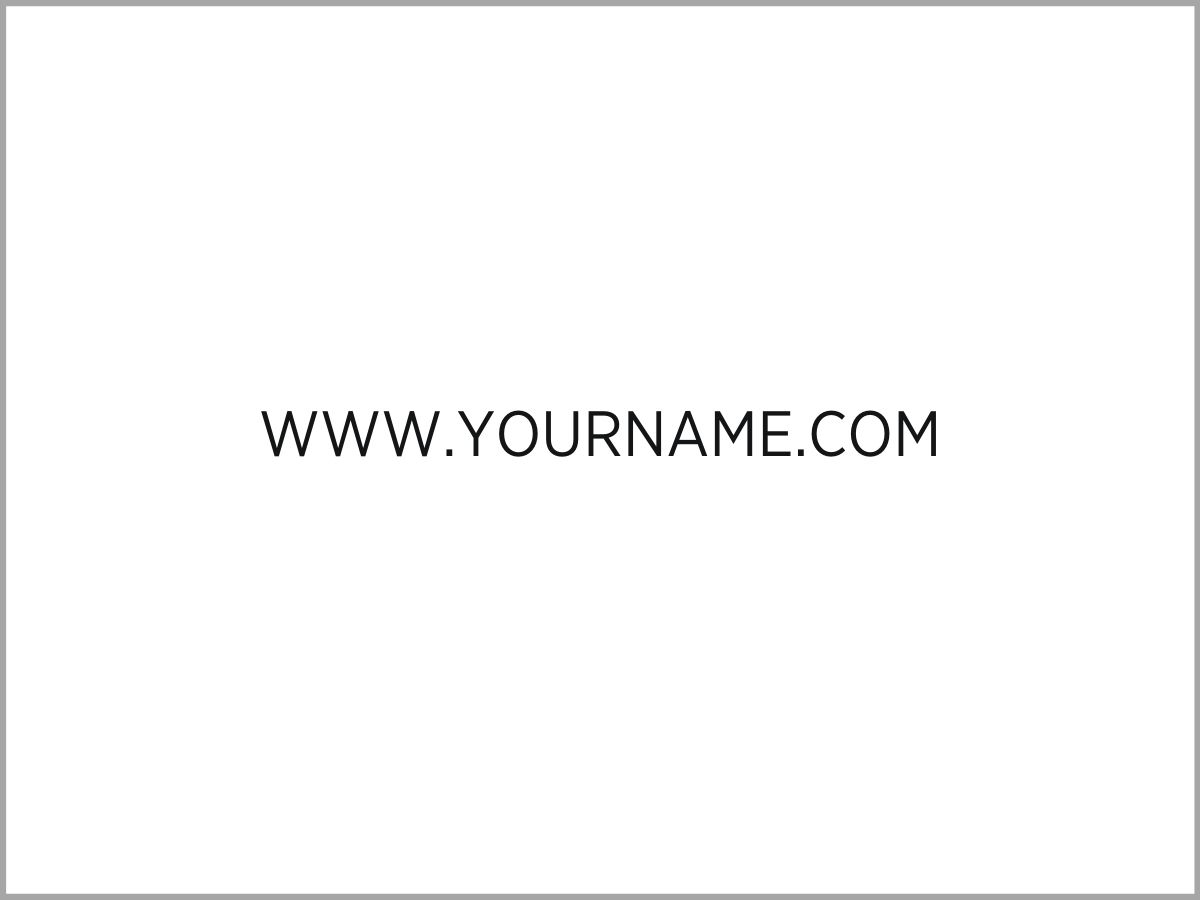 Domain name example